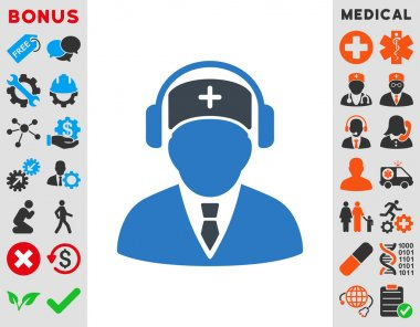 Medical Call Center Icon