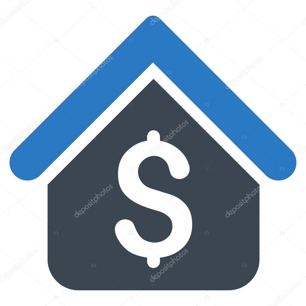 Icono de pr stamo hipotecario vector de stock ahasoft for Prestamo hipotecario