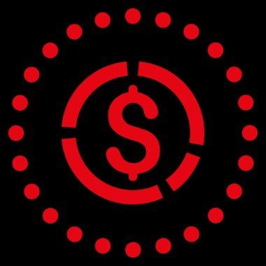 Financial Diagram Icon