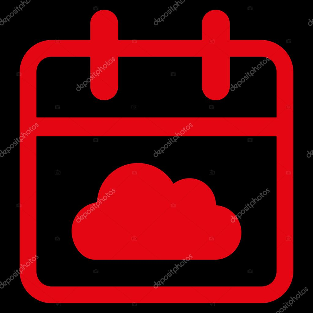 Cloudy Date Icon
