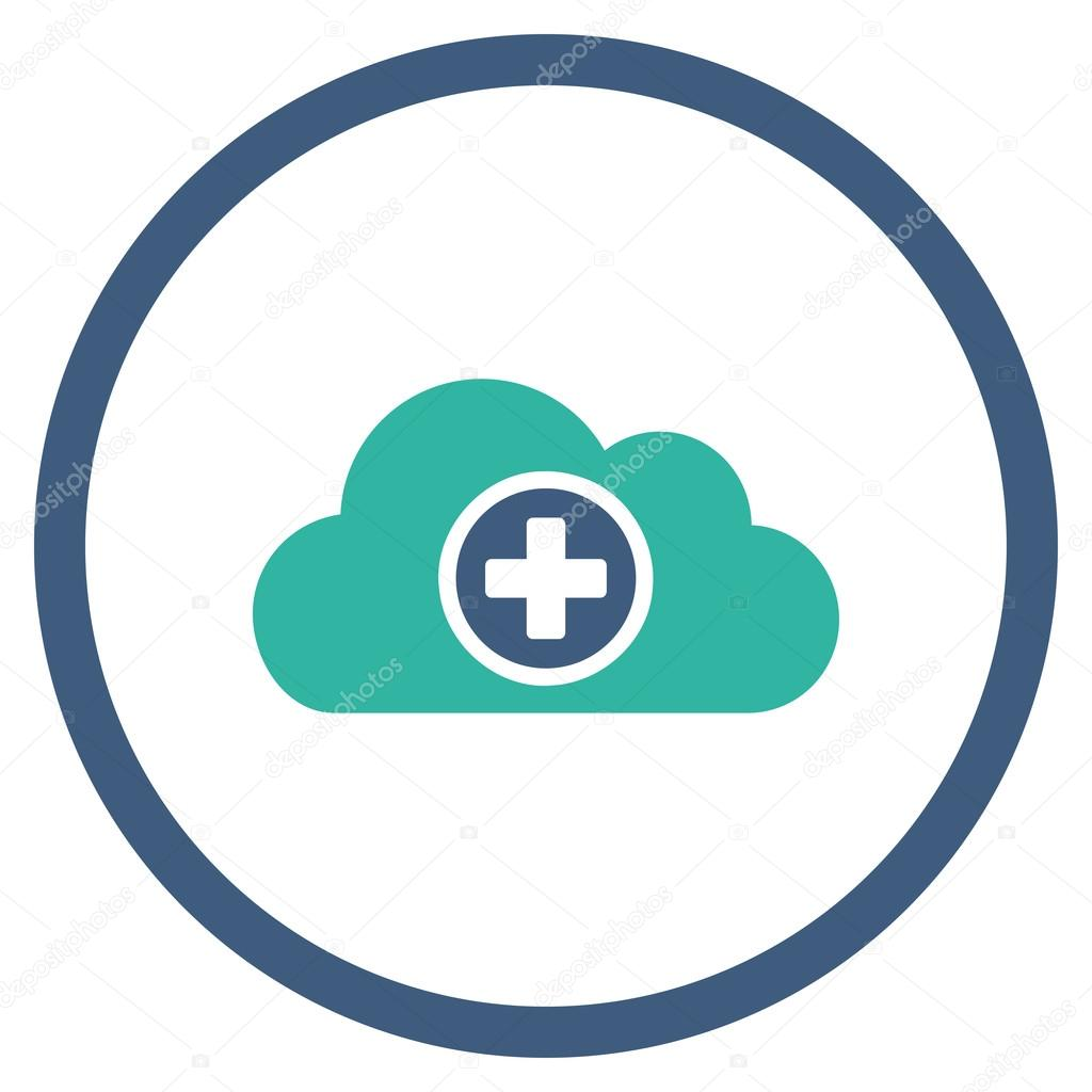 Medicine Cloud Rounded Icon