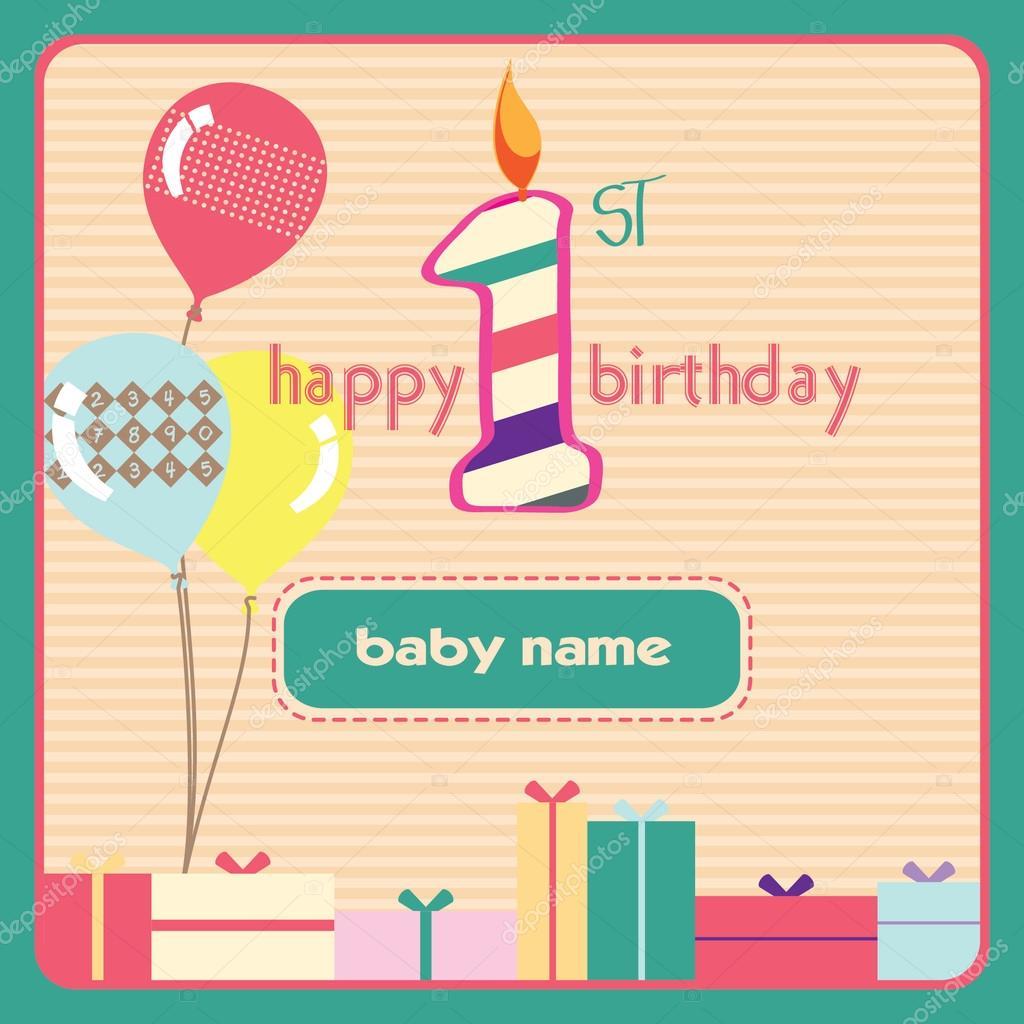 Grüße zum 1 geburtstag. 💋 Geburtstagsgrüße. 2020-01-01