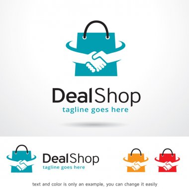 Deal Shop Logo Template Design Vector