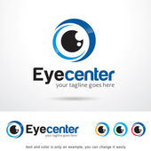 Eye Center Logo Template Design Vector