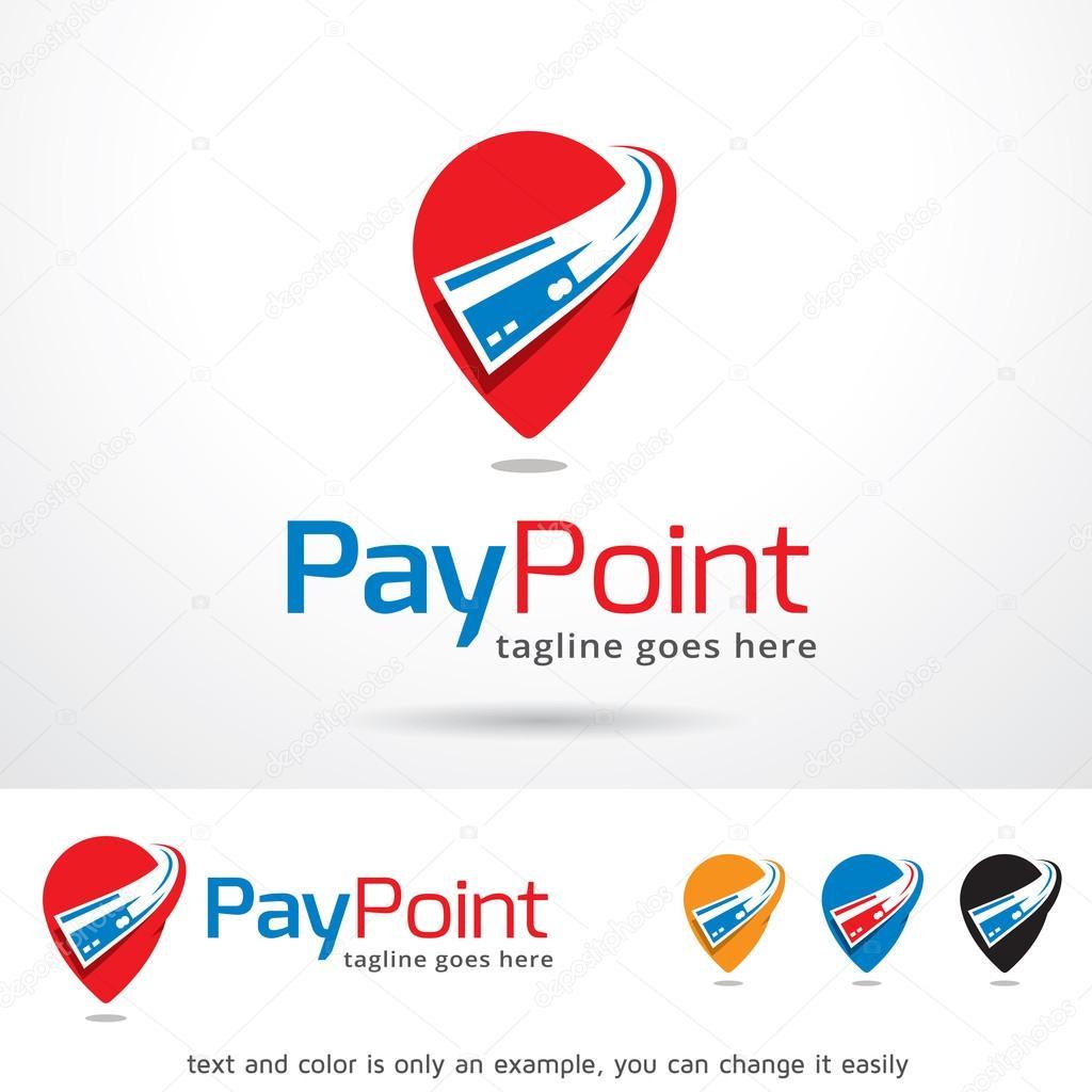 Pay Point Logo Template Design Vector — Stock Vector © gunaonedesign