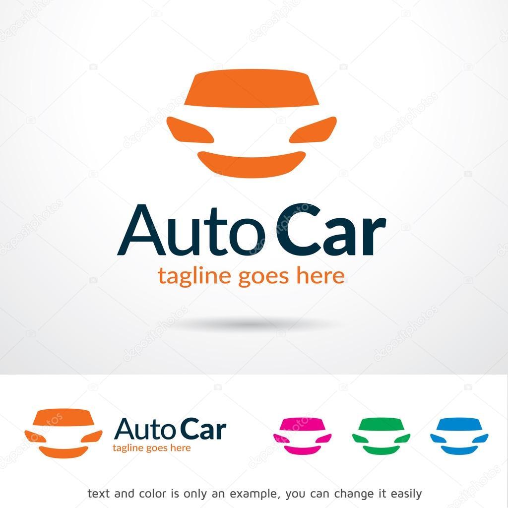 Auto coche Logo plantilla diseño Vector — Vector de stock ...