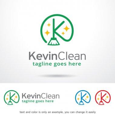 Kevin Clean Letter K Logo Template Design Vector