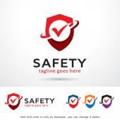 Fotografie Safety Logo Template Design Vector