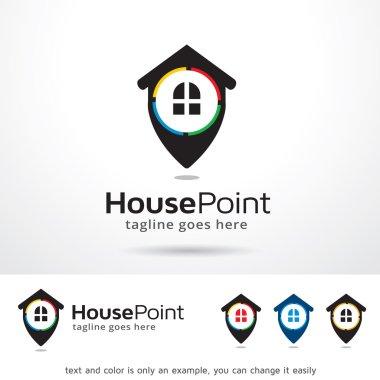 House Point Logo Template Design Vector