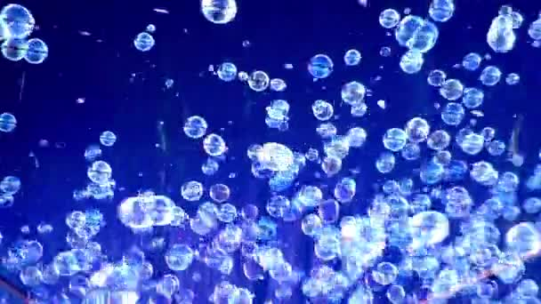 Spousta mýdlové bubliny.