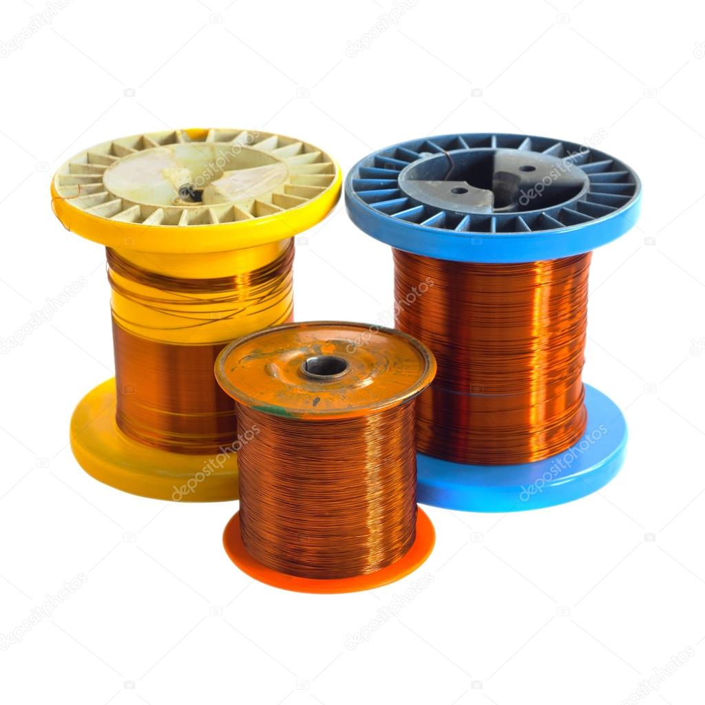 Three Wire spool — Stock Photo © oioioio #88196542