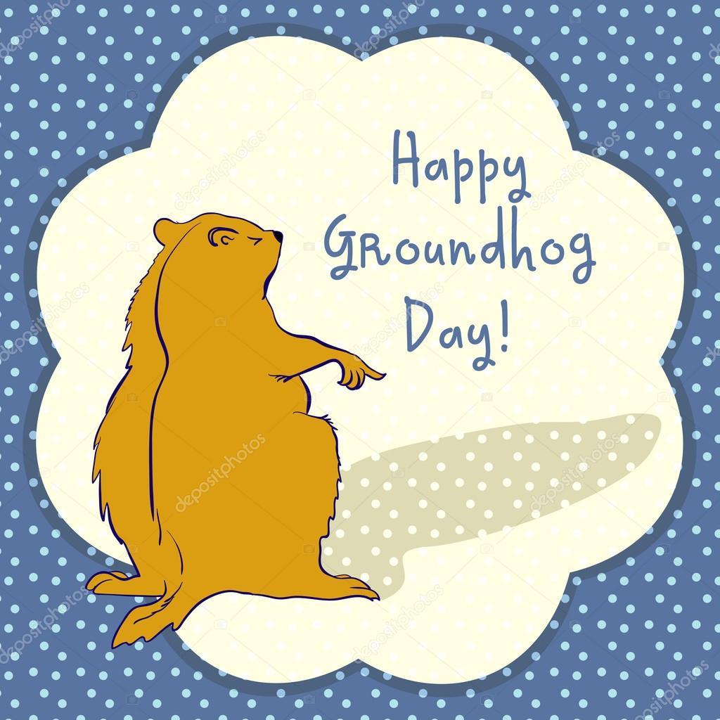 Marmot Groundhog day