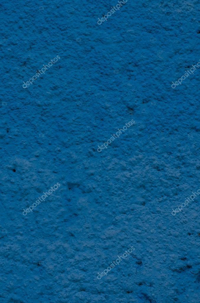 Beautiful Hintergrund Von Einem Tiefblauen Stuck überzogen Und Bemalt Außen, Raue  Stimmen Von Zement Und Beton Wand Textur, Dekorative Beschichtung U2014 Foto  Von ...