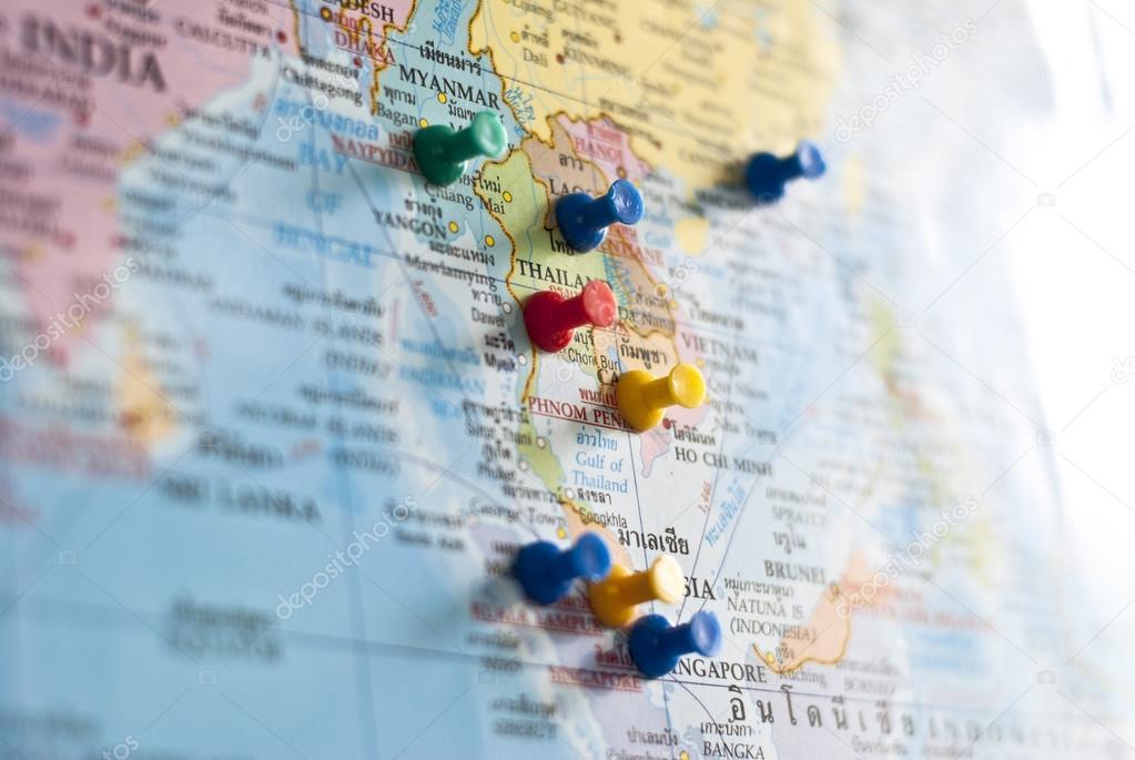Caritas con pasadores de colores en pases del sudeste asitico sudeste de asia o asia del sudeste es un subregion de asia consistiendo en los pases que estn geogrficamente al sur de china al este de la india gumiabroncs Choice Image