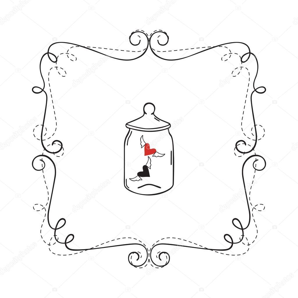 Frame Border Card — Stock Vector © YuliyaKim #106359102