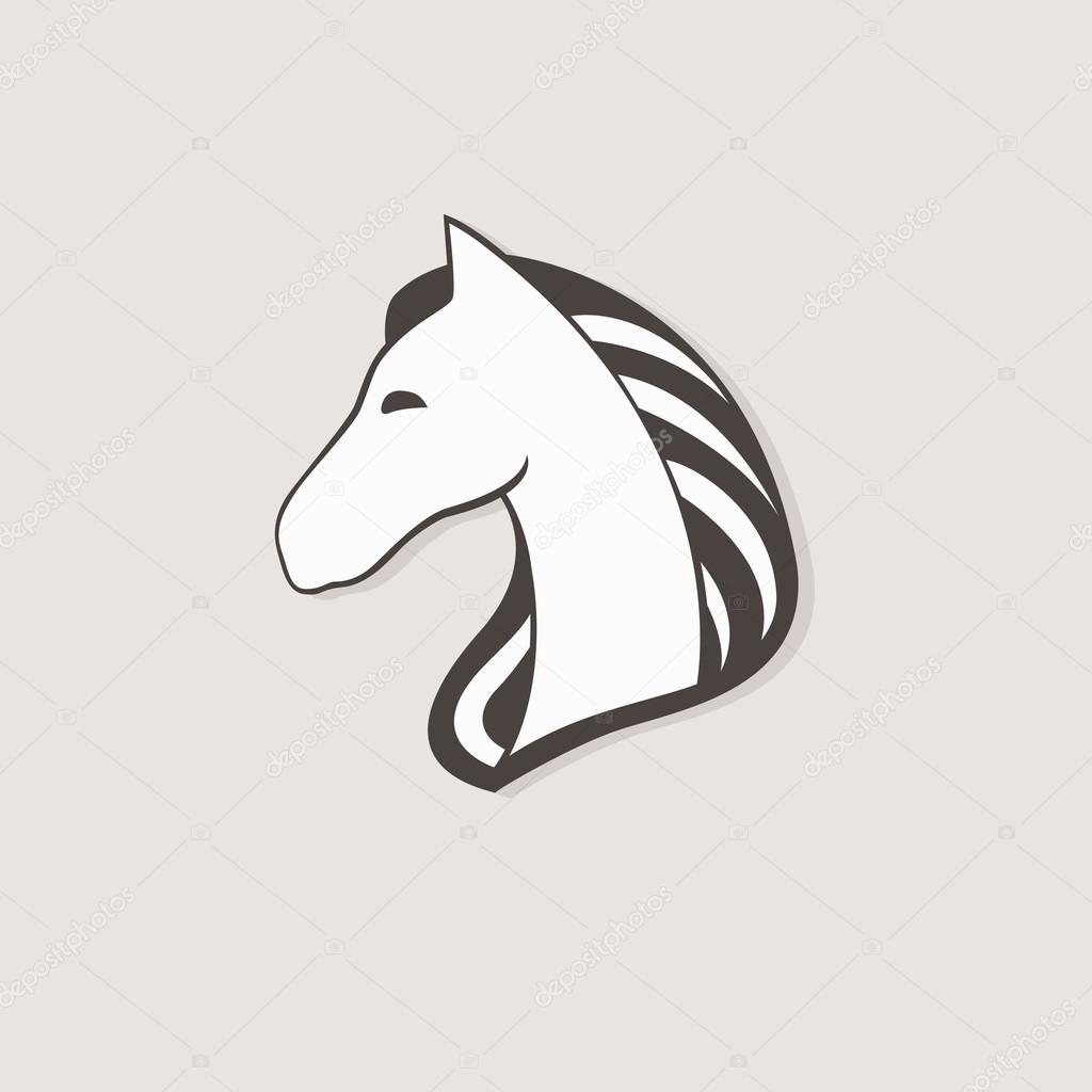 Vektor-Logo Pferd. Vorlage für Ihr Unternehmen. Pegasus kreative ...