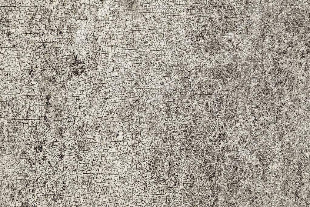 Craquage de peinture sur mur avec eau tache — Photographie ...