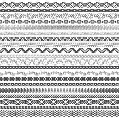 Twenty border  frames elements for design