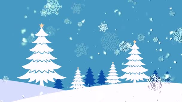 Christmas Landscape 2 Loopable Background