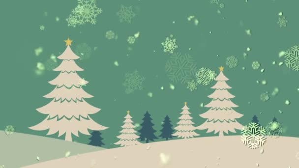 Christmas Landscape 1 Loopable Background