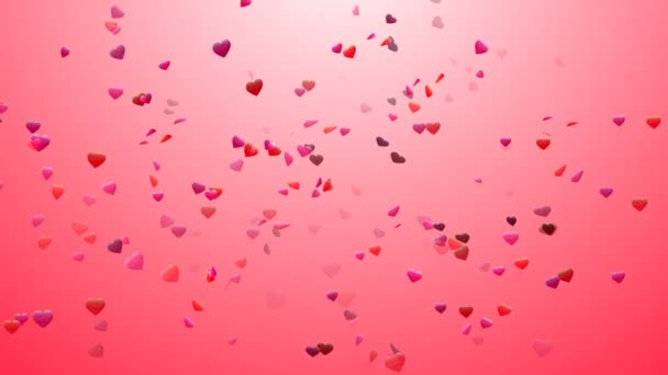 Heart Confetti 4 Loopable Background