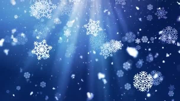 Holiday Snowflake Dark 3 loopable háttér