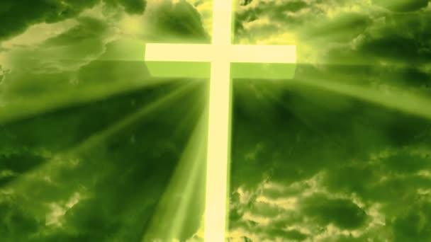 Istentisztelet Vallási Isten sugarai 2 Loopable Háttér