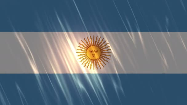 Argentina Flag Loopable Background