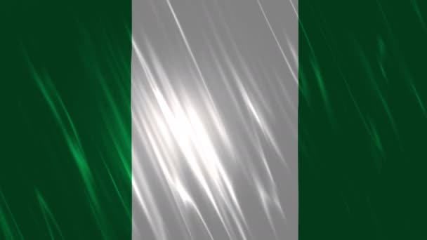 Nigeria Flag Loopable Background