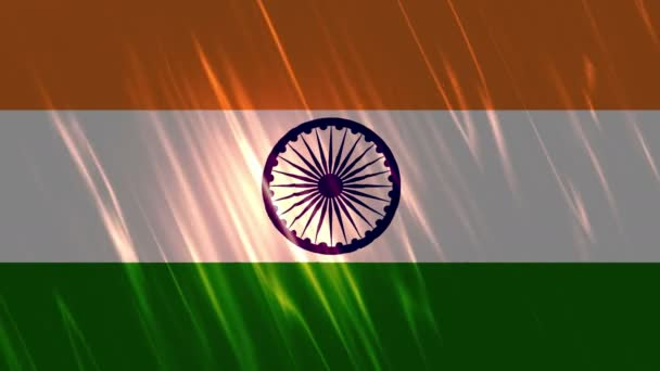 India Flag Loopable Background