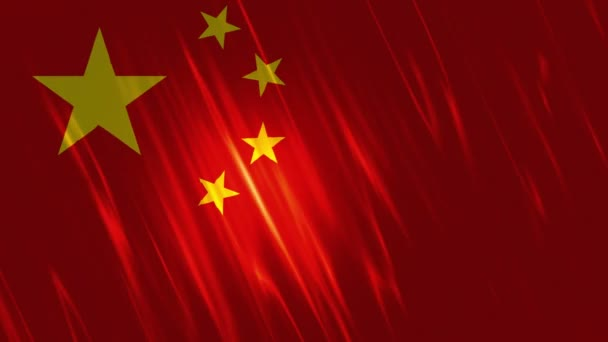 China Flag Loopable Background