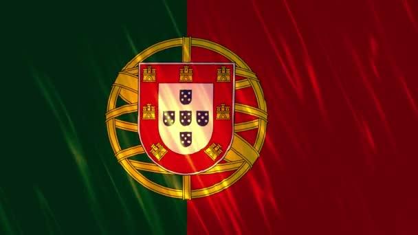 Portugália zászló loopable háttér