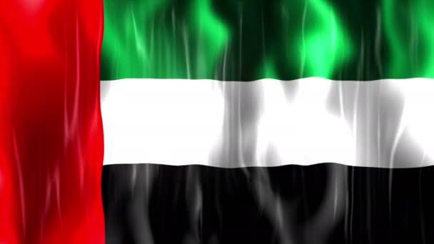 United Arab Emirates Flag Animation — Stock Video ...Uae Flag Animation