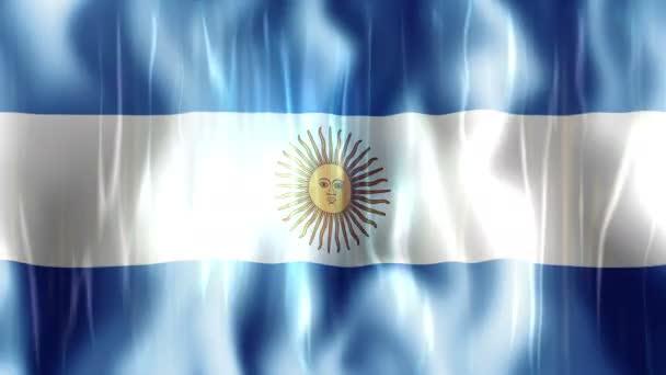 Argentina Flag Animation