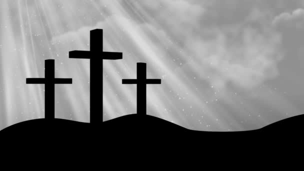 Christ on Crosses-Worship Loopable Background
