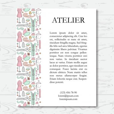 Template for atelier card