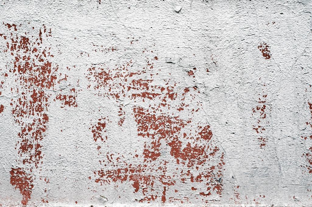 Alte Vintage Putz weiß gestrichene Wand Hintergrund ...