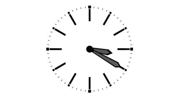 Analóg óra a nyilak