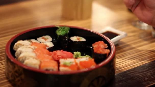 Japán konyhát az étteremben