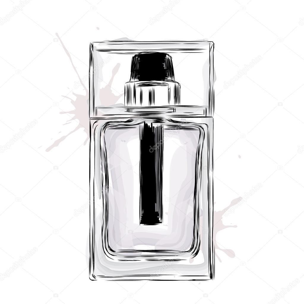Profumo Acqua Colonia Bottiglia Per UomoLa Di Vettore Nel thsrCdxQ