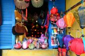 Handcrafted colorful lanterns