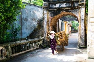 Street vendor  in Hoian