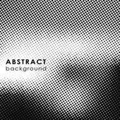 Pozadí abstraktní s efektem polotónování