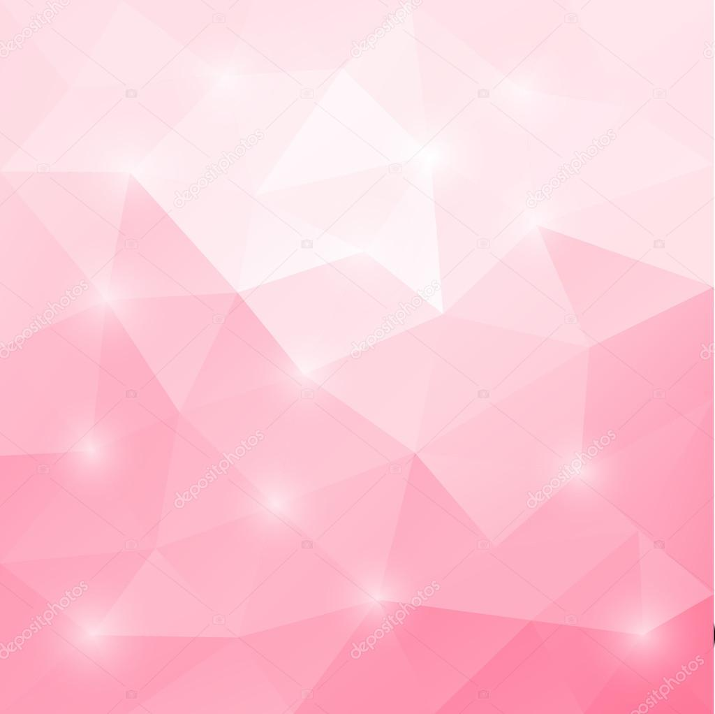 abstract triangular mosaic light pink background � stock
