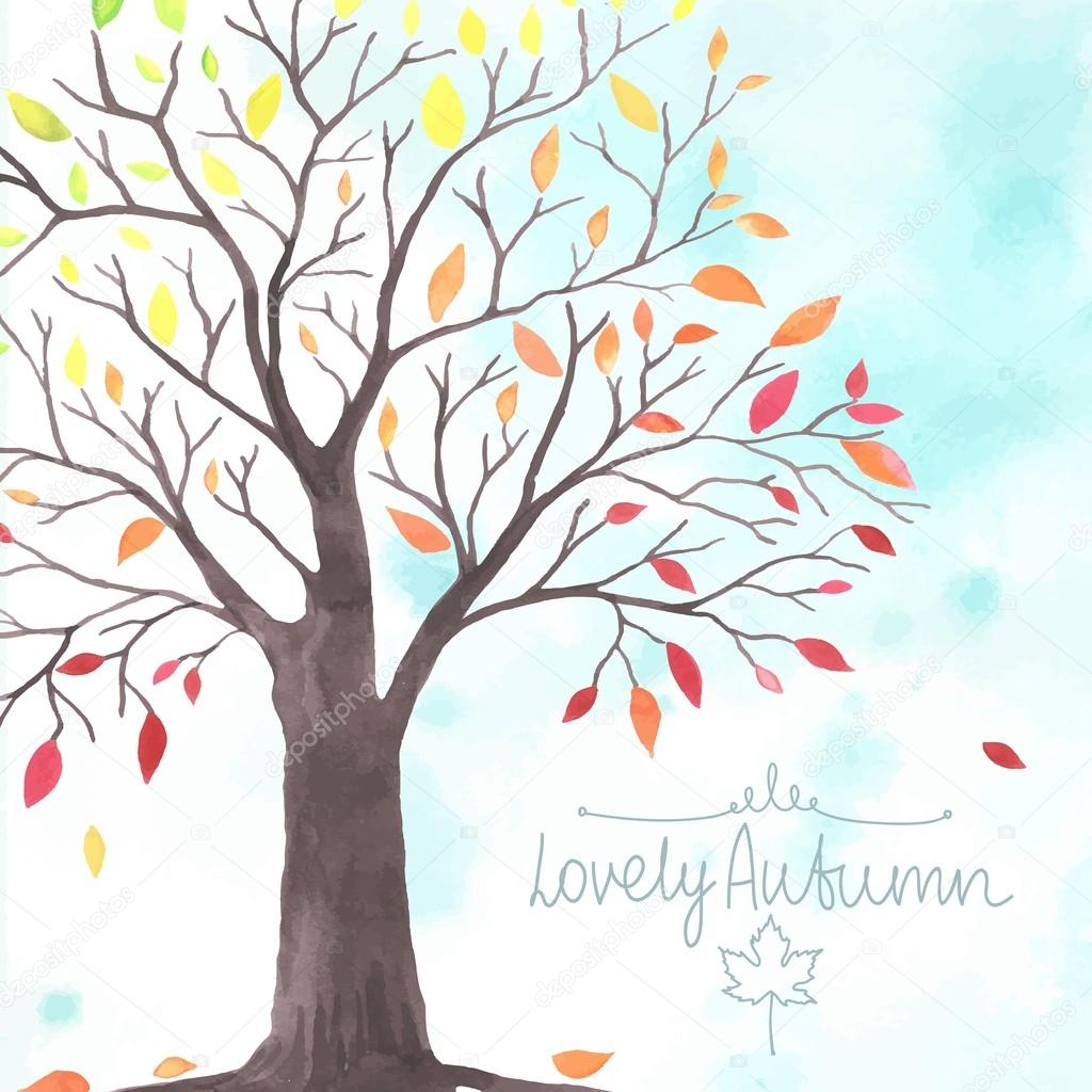 lovely autunm tree