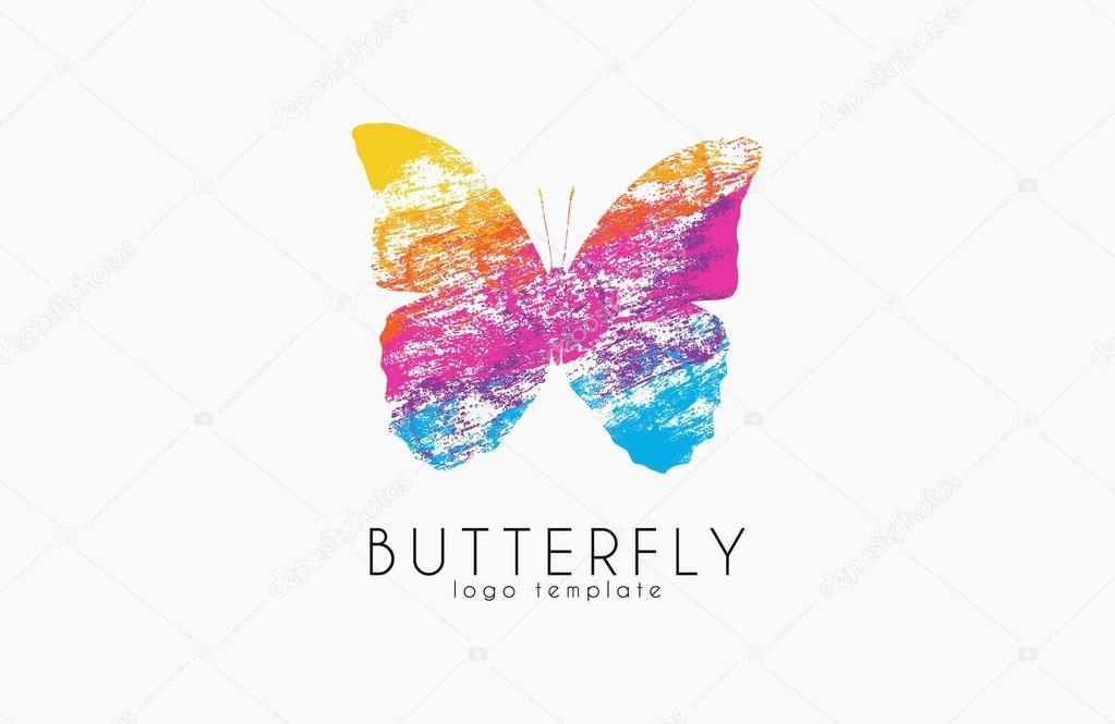 Rainbow butterfly logo - photo#23