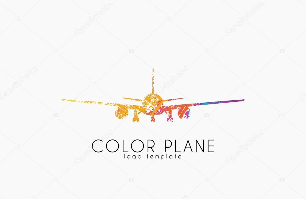 airplane logo travel logo design plane logo creative logo
