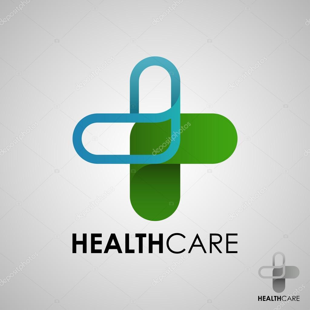 Medical pharmacy logo design template.- vector illustrator — Stock ...