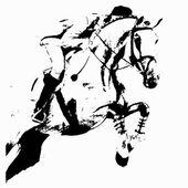 Springen (Reiter und Pferd))