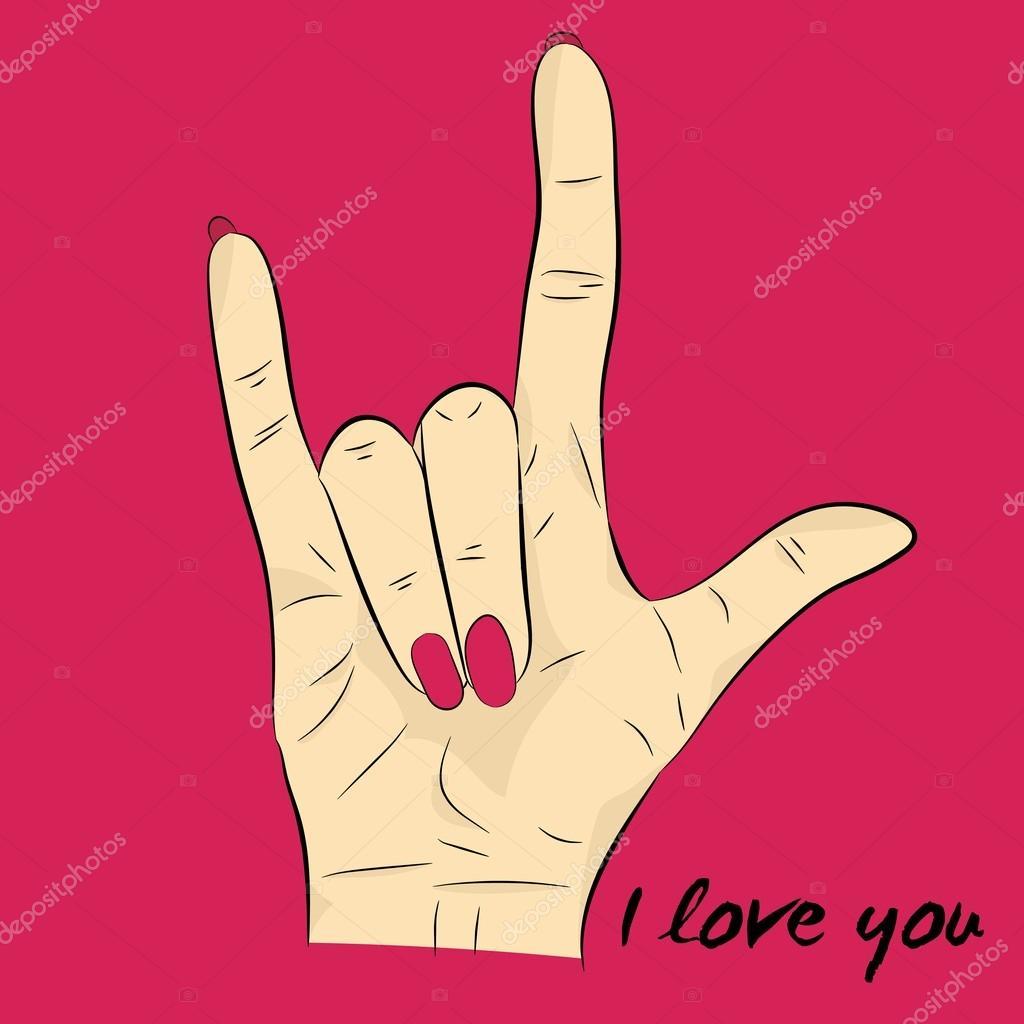 ik hou van je gebarentaal
